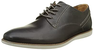 Clarks Franson Plain, Men's Derby Grey (Grey Leather) 6 UK
