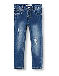 Name It 女童牛仔裤  Medium Blue (Medium Blue Denim) 5 Years