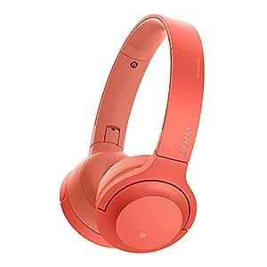 Sony 索尼 WH-H800 蓝牙无线耳机 头戴式 Hi-Res立体声耳机 游戏耳机 手机耳机 暮光红