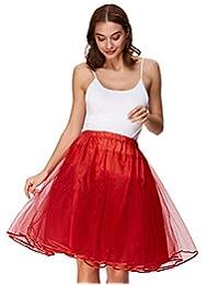 Belle Poque 女式复古乡村摇滚衬裙蓬蓬裙衬裙
