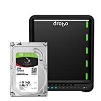 Drobo 5D3 5-Drive Direct Attached Storage (DAS) Array 4 x 2TB