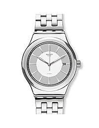 Swatch Sistem 休闲 YIS421G 银色不锈钢瑞士自动时尚手表