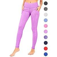 DEAR SPARKLE 高腰瑜伽裤锻炼口袋收腹跑步打底裤 Plus (S5)