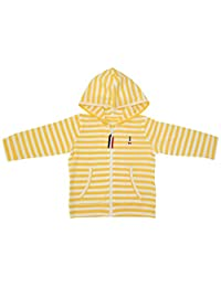 Anna Nicola 防紫外线 薄面料柔软连帽卫衣 AN11-106B E64 日本制造 黄色 95