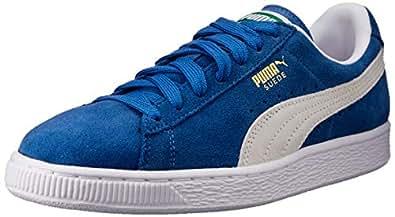 PUMA 彪马 Suede Classic Sneaker Olympian Blue/White 4 M US