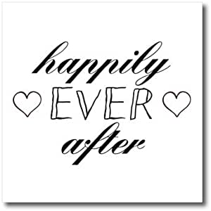 PS LOVE–happily EVER After 心形图案–熨烫热转印