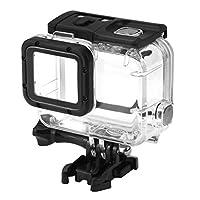 Rofusn 45M 防水外壳适用于 GoPro 水下潜水保护外壳,适用于 Go Pro Hero7 Hero6 Hero5 Hero 2018 活动摄像机,带支架配件