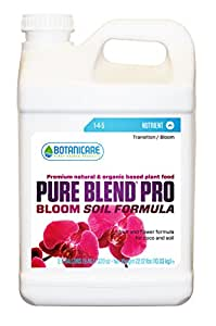 Botanicare Pure Blend PRO Bloom 土壤营养剂 1-4-5 *,1 加仑 2.5-Gallon (2-Pack)