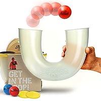 pindaloo 技能玩具。 美國*新 Craze to Hit the U.S.A. 適合兒童、青少年和成人。 樂趣無限,培養運動技能、手眼協調能力和信心。 室內外玩耍 The Official Pindaloo Set 透明的