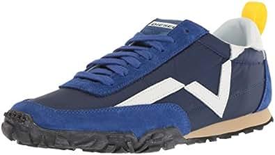 Diesel Men's Pagodha Sneaker, Surf Blue, 9 M US
