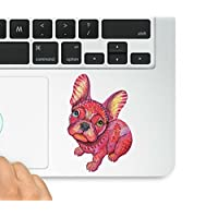 可爱小狗 Macbook Trackpad 贴花贴纸笔记本电脑兼容 Macbook Retina、Macbook Air、Macbook Pro Wicked Decals WD-98066