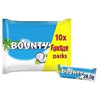 MARS 玛氏 Bounty趣味尺寸袋装牛奶巧克力,每袋303g,16袋装,共160支巧克力棒