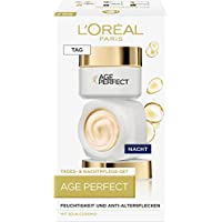 L'Oréal Paris 巴黎欧莱雅 Anti-Aging 保湿霜 日/夜霜护理套装 Age Perfect有效针对皱纹