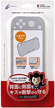 【LR/電源/音量按鈕/揚聲器部保護】CYBER ? TPU保護套 平式 ( SWITCH Lite 用) 透明 - Switch