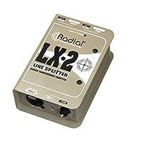 Radial LX2 2 通道平衡线分配器 W 隔离