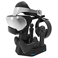 Collective Minds PSVR Showcase Rapid AC PS4 VR Charge & Display Stand - PlayStation 4 需配变压器
