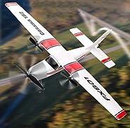 PLRB TOYS 遥控飞机 2.4Ghz 2 通道 RTF 遥控飞机,遥控飞机带 3 轴陀螺仪,适合初学者轻松飞翔的 EPP Glider 玩具