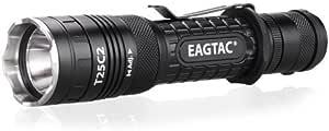 EagleTac T25C2 XM-L2 XLamp LED 手电筒,黑色