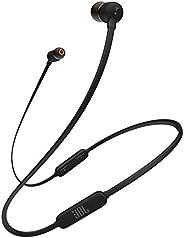 JBL TUNE110BT 藍牙耳機 無線/麥克線控/帶磁吸 黑色 JBLT110BTBLKJN