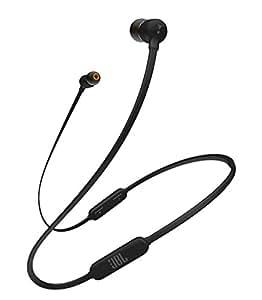 JBL T110BT无线蓝牙耳机/附麦克风、遥控器/磁吸式 黑