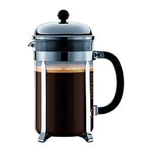 BODUM Chambord 12 Cup French Press 压壶咖啡壶 镀铬 1.5升 51盎司