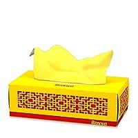 Renova 面部围巾 红色标签黄色 - 一盒80片