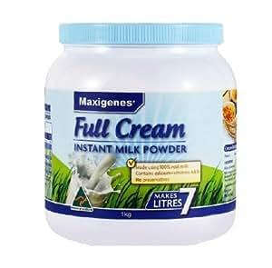 Maxigenes 美可卓全脂高钙奶粉 1kg (1罐)