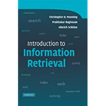 Introduction to Information Retrieval (English Edition)