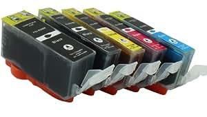 欧冠 国产墨盒 PGI-820 PGI820BK CLI-821 墨盒 (适用于 Canon Pixma IP3600 IP3680 IP4600 IP4680 IP4760 MP540 MP545 MP620 MP630 MP638 MP980 MX868 等打印机) 一盒5个