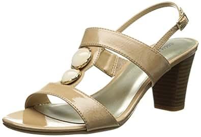 Easy Street Catalina 女士正装凉鞋 Nude Crinkle 7.5 N US