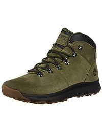 Timberland 男士 World Hiker 中帮靴