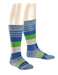 Falke Boy's Irregular Stripe Knee-High Socks