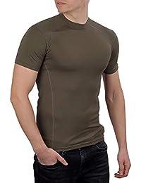 281Z 男士*吸湿排汗 T 恤 - 战术训练*专业 - Polartec Delta - 防臭(橄榄褐色)