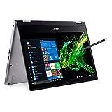 Acer 宏碁 Spin 3 可转换笔记本电脑, 14英寸全高清 IPS Touch, 第8代英特尔酷睿i7-8565U, 16GB DDR4, 512GB PCIe NVMe SSD, 背光键盘, 指纹识别器, 可充电有源手写笔, SP314-53N-77AJ