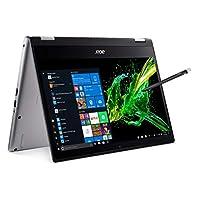 Acer 宏碁 Spin 3 SP314-53N-77AJ 可转换笔记本电脑, 14英寸全高清 IPS Touch,8代英特尔酷睿i7-8565U,16GB DDR4,512GB PCIe NVMe固态硬盘,背光键盘,指纹识别,可充电有源手写笔
