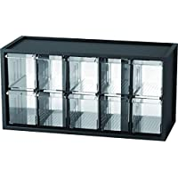 livinbox 桌面文具硬件收纳架多功能储物盒,办公配件,带多抽屉 10 Compartments 黑色 USIOSAmz201811081C3EPw