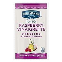 Hellmann's Classics Salad Dressing Portion Control Sachets Raspberry Vinaigrette 1.5 Ounces, Pack of 102