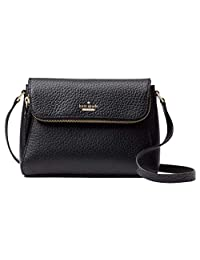 Kate Spade New York Berrin Carter 皮革手提包 黑色/暖色
