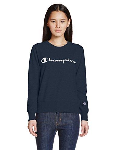 チャンピオンラウンドネックスウェットシャツCW-K015 [女性]