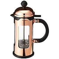 bodum 0.35升 / 340.2gram borosilicate GLASS CHAMBORD 3-cup 咖啡壶,铜色 父