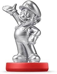 *马里奥兄弟 Amiibo Parent ASIN Mario - Silver USA