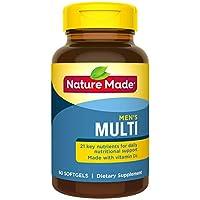 Nature Made 男性复合维生素-22种基本维生素&矿物质 60粒软胶囊