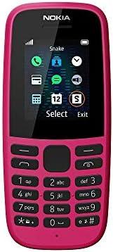 Nokia 105 自动 黑色 2019 粉红色