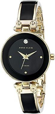 Anne Klein 女士鑲鉆手鐲手表