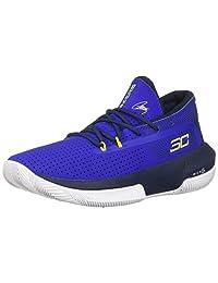 Under Armour 安德玛 中性款儿童学前SC 3ZER0 III 篮球鞋,宝蓝色 (404)/学院蓝,5.5