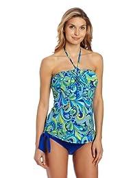孕妇 America 女式孕妇两件套细肩带分体式泳衣