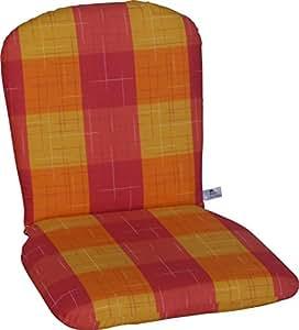Angerer 单块垫低设计布鲁塞尔 82 x 45 x 6 cm 橙色 708/141
