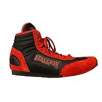 STALLION NEW YORK All Pro 拳击鞋 - 经典十字军系列 - 高级低帮鞋 - 真皮麂皮 - *先进的品质