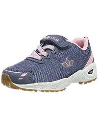 Lico 女孩 Flori Vs Multisport 室内鞋 Grau (Grau/Rosa Grau/Rosa) 33 EU