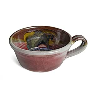 Larrabee Ceramics 手写汤碗 红色/多色 SOUP-TR